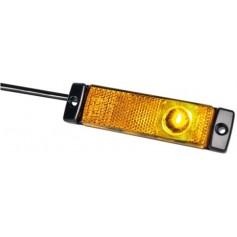 2PS008645-001 - LUZ BALIZA. AMBAR C/CAPT. LED 24V