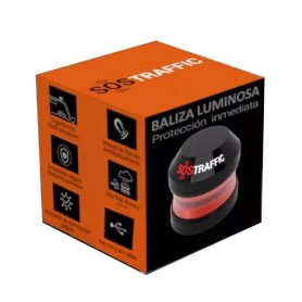 RV5000.00 - BALIZA LED SOSTRAFFIC MAGNETICA