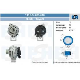 102211-2310+ - Toyota 85Amp