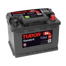 TC542 - BATERIA TUDOR 54AH 500CCA +D 12V