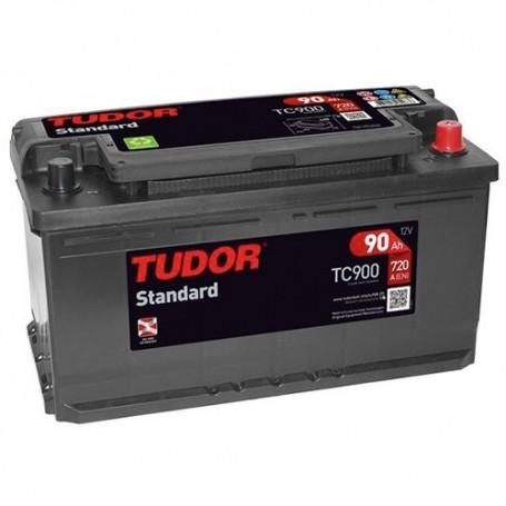 TC900 - BATERIA TUDOR 90AH 720CCA +D 12V