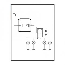 200012 - Conjunto señalización emergencia 12V