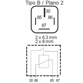 RLES424 - Relé potencia interruptor