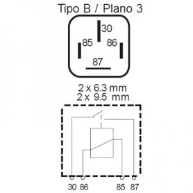 RLAC424 - Relé potencia interruptor ALTA POTENCIA