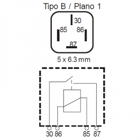 RLPS424 - Relé interruptor