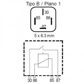 RLPS424D - Relé interruptor