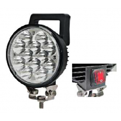 AV.50.0062 - FARO TRABAJO LED 12 LEDS CON INTERRUPTOR IP67