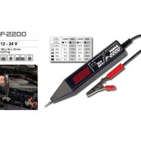 F-2200 - CIRCUIT TEST Voltímetro digital 12-24 V