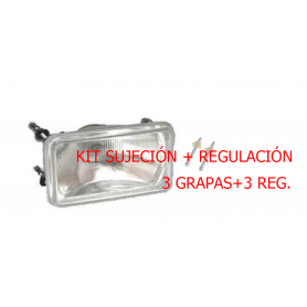 KITREGFARO - Kit sujeción y regulación para óptica 05.400.000 D/I