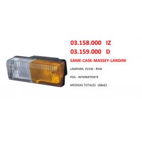 03.158.000 IZDO - PILOTO DEL SAME - CASE - MASSEY - LANDINI