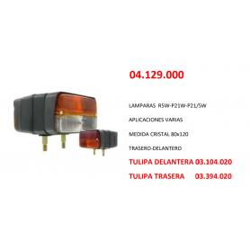 04.129.000 - PILOTO DELANTERO TRACTOR IZQUIERDO/DERECHO
