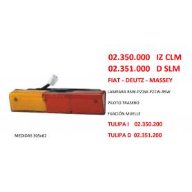 02.350.000 IZ - PILOTO FIAT DEUTZ MASSEY CON LUZ MATRÍCULA