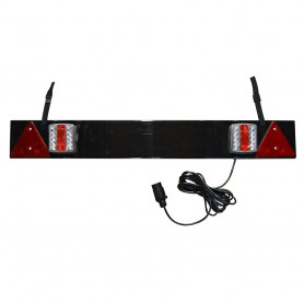 52838 - BARRA PARA REMOLQUE 2 PILOTOS LED 1020x140mm