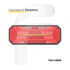 FA326040-D - Pilloto Trasero LED Derecho 10-30V Dinamico
