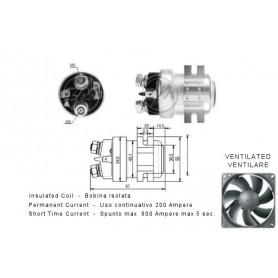 "ZM403 - RELE TRABAJO CONTINUO 12V 200AH - (800AH 5"")"