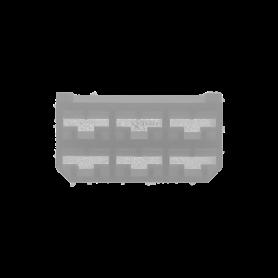 123104 - CONECTOR TERMINAL HEMBRA BLANCO 6 VÍAS