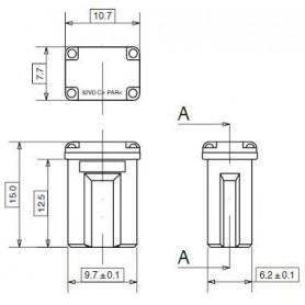 JCC40 - FUSIBLE JCASE MICRO 40 A