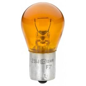 HELLA LAMPARA STOP 1P BAU 12V 21W AMBAR (PACK 10 UNDS)