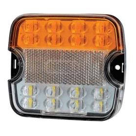 AV030018 - PILOTO DELANTERO LED POSICION + INTERMITENTE 12/24V