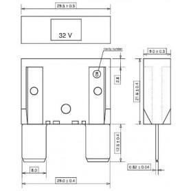 0350250 - FUSIBLE MAXI 25 A