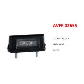 FA210107LED - PILOTO MATRÍCULA LED 12/30V