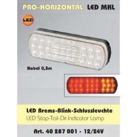 40287001 - PILOTO HORIZONTAL LED 3 FUNCIONES ADR 12/24VOLT ADR