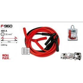 F-960 - Cable 35 mm2 - 480 A - 5 m (profesional)