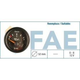 FAE 99370 - RELOJ MANOMETRO ACEITE 6K 12V