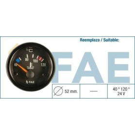 FAE 99580 - TERMOMETRO 24V 120º