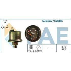 FAE 99700 - KIT MANOMETRO ACEITE 6KG 12V 14X150