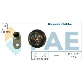 FAE 99830 - KIT TERMOMETRO AGUA 12V CONTACTO