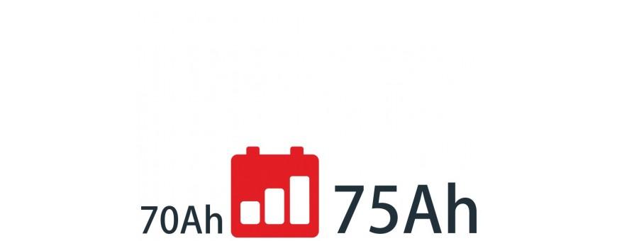 Baterías de 70Ah a 75Ah