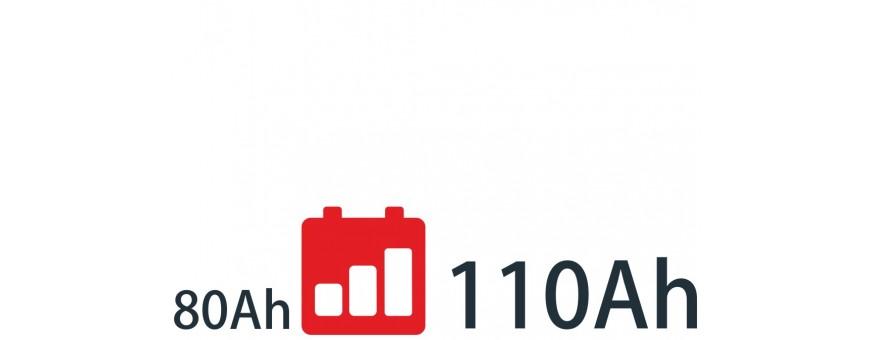 Baterías de 80Ah a 110Ah