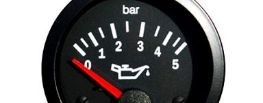 Reloj Manómetro Presión Aceite