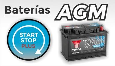 Baterías AGM Start Stop